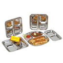 Stainless Steel Platers, Dishes & Trays