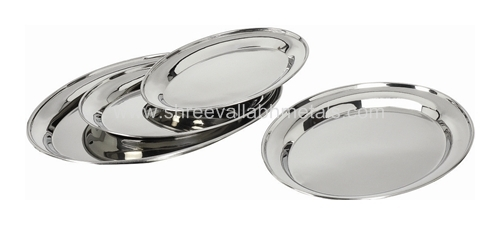 Oval Display Plates