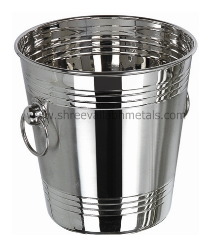 Stainless Steel Wine Bucket 4 Line