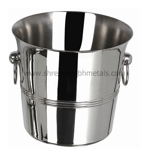 Stainless steel wine bucket Tulip 190cms