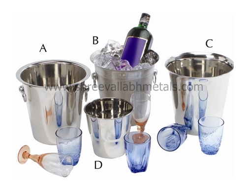 Tulip Wine Buckets