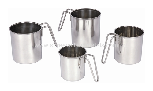 Wire Handle Water Mugs