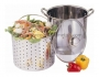 12QT-3PC Pasta Steamer With Glass Lid