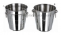 Step (S.T.) & Leap-U-Ring Stainless Steel Wine Bucket