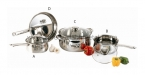 7 Pc Belly Cookware