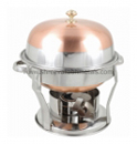 Copper Plated Chafing Dish