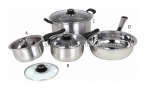 Encapsulate Cookware with Wire Handle